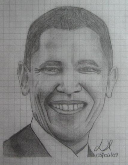 Barack Obama by Lemik90
